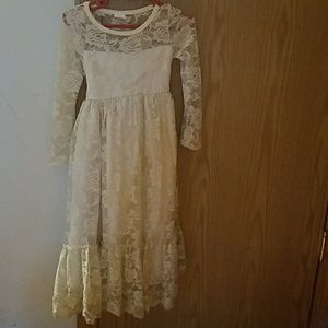 Other - 3t Ivory Lace Flower Girl dress